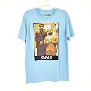 SWAG Hangover Ripple Junction Graphic T-shirt Blue